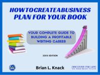 Book Business Plan