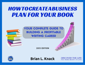 How To Create Business Plan For Your Book